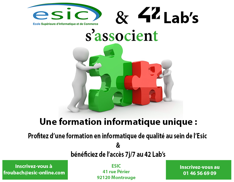 Etudier l'informatique au 42 lab's à Paris